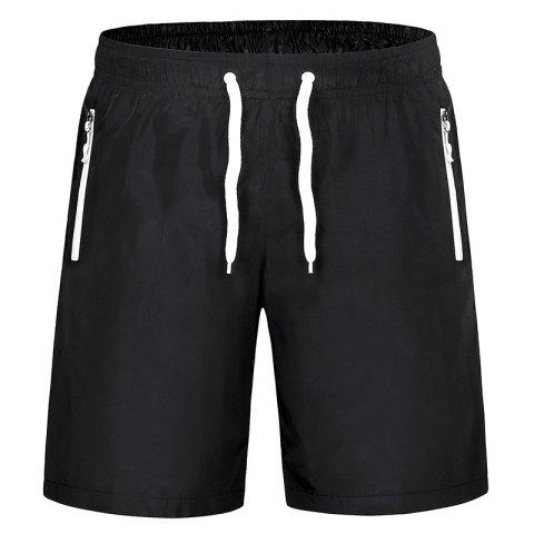 Trendy Men'S Stretch Large Size Speed Dry Clothes Sports and Leisure Shorts