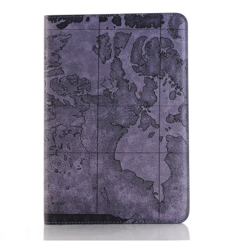Top Armure Carte Conception Ultra Mince Smart Housse en cuir pour iPad 2/3/4