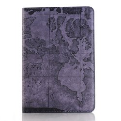 Top Armure Carte Conception Ultra Mince Smart Housse en cuir pour iPad 2/3/4 -