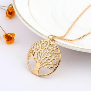 925 Sterling Silverclassic Tree of Life Pendant Necklace Chain Gift -