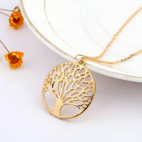 Fancy 925 Sterling Silverclassic Tree of Life Pendant Necklace Chain Gift