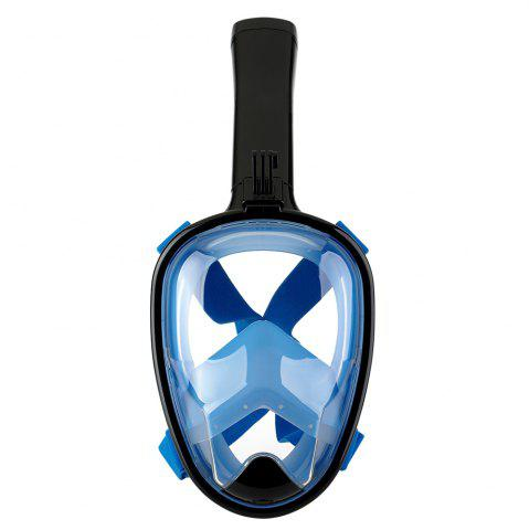 Shop Full Face Snorkel Mask 180DEGREES Panoramic View Swimming Goggles with Anti-Fog Anti-Leak Anti-Vertigo Technology