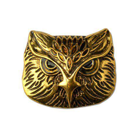 Cheap Vintage Owl Brooch Corsage Scarf Clip Crystal Parrots Brooches Lapel Pin Broches Jewelry For Men