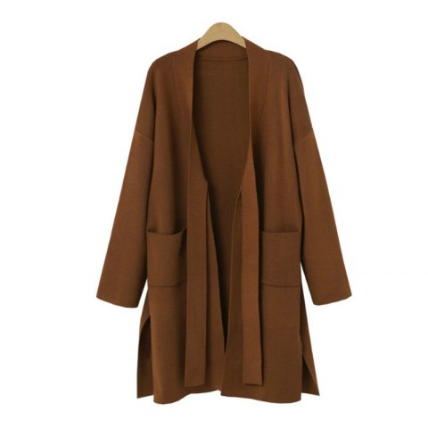 Sale Medium and Long Knit Knit Coat