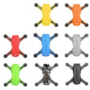 Waterproof PVC Stickers Aircraft Remote Controller Battery Skin for DJI SPARK -