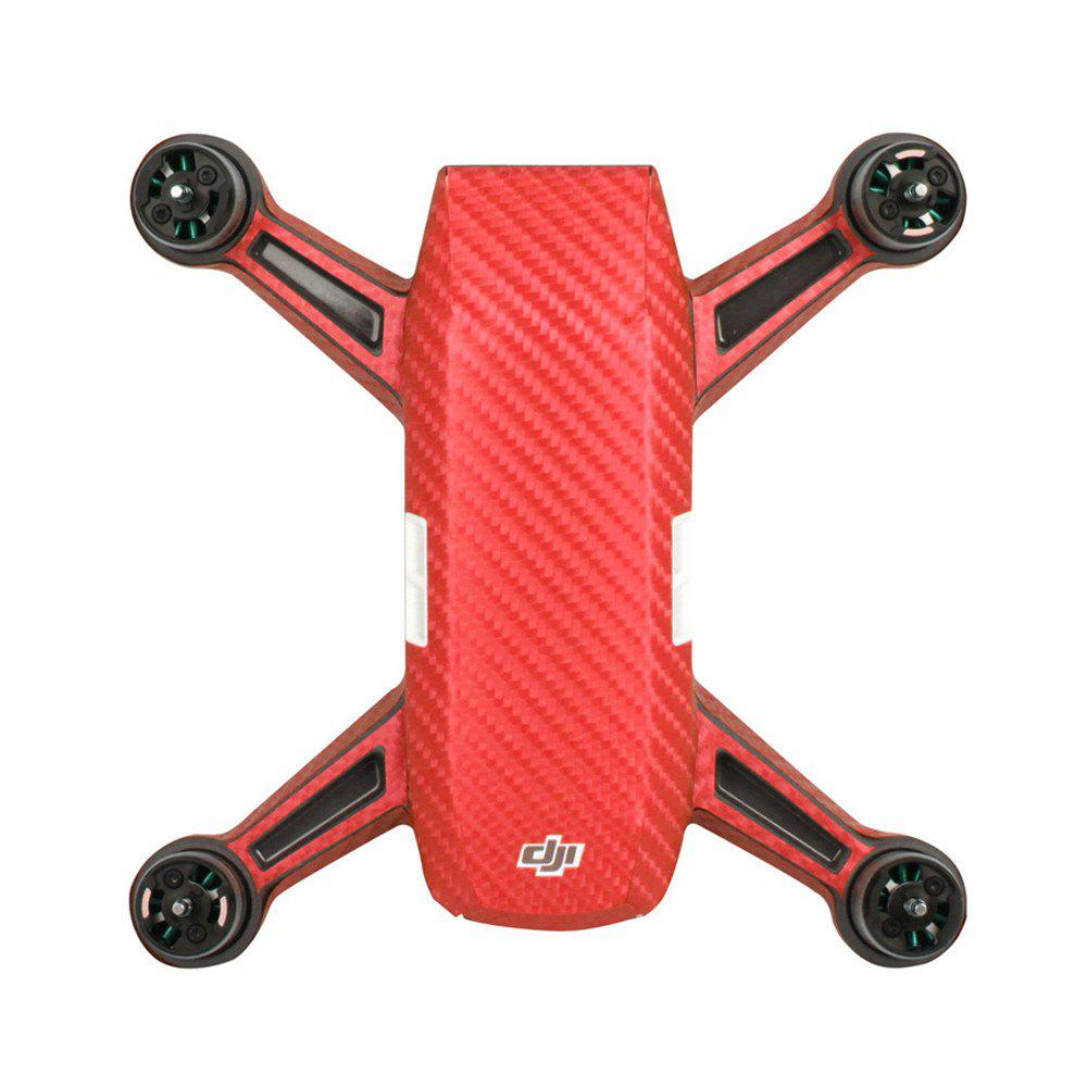 Unique Waterproof PVC Stickers Aircraft Remote Controller Battery Skin for DJI SPARK