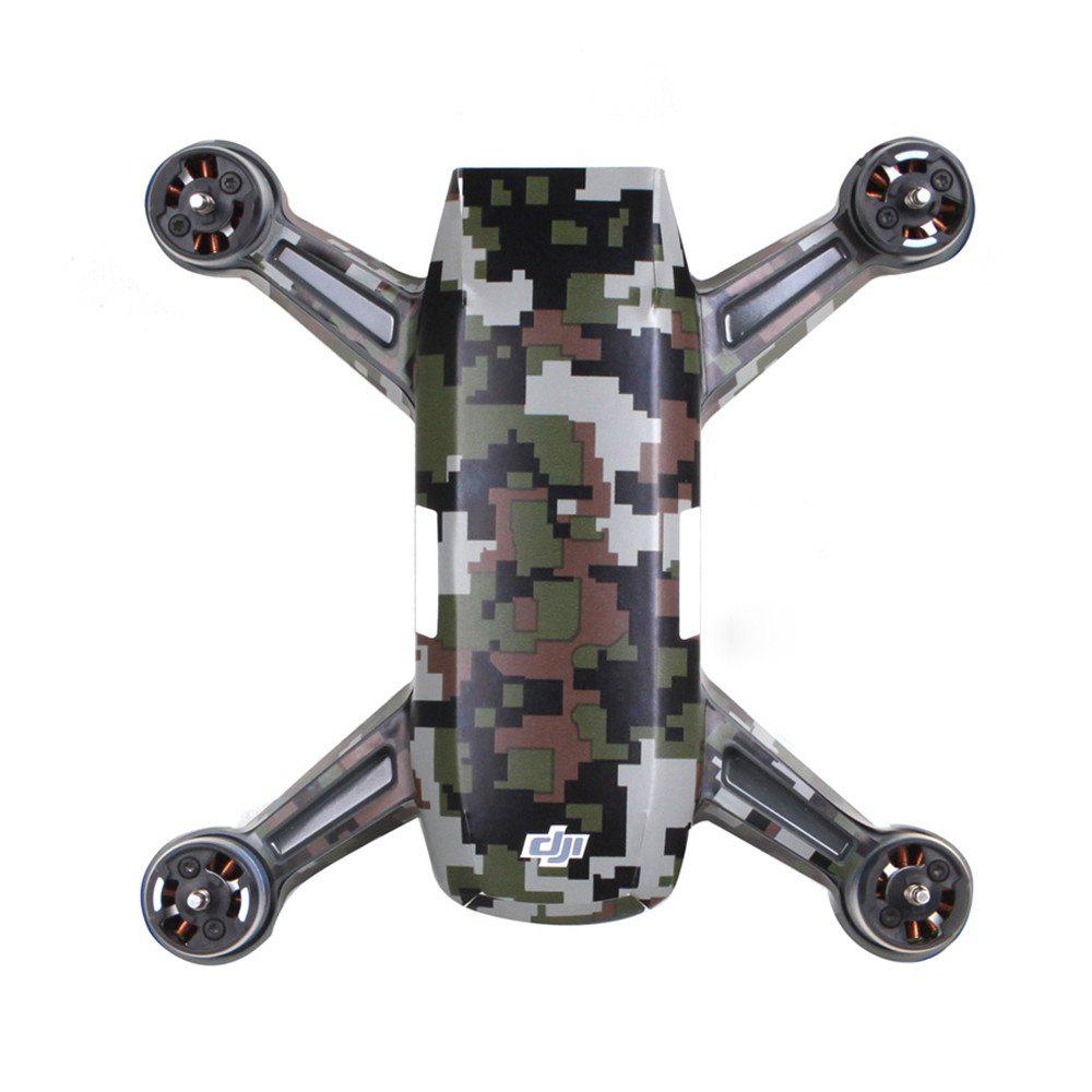 Outfits Waterproof PVC Stickers Aircraft Remote Controller Battery Skin for DJI SPARK