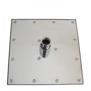 CP-200YLB SUS304 Stainless Steel 8 Inch Square Mirror Shower Head -