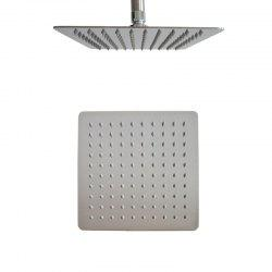 CP-200FLB SUS304 Stainless Steel 8 Inch Square Mirror Super Thin Shower Head -