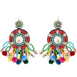 New Product Multi - layer Tassel Shell Shell  Earrings -