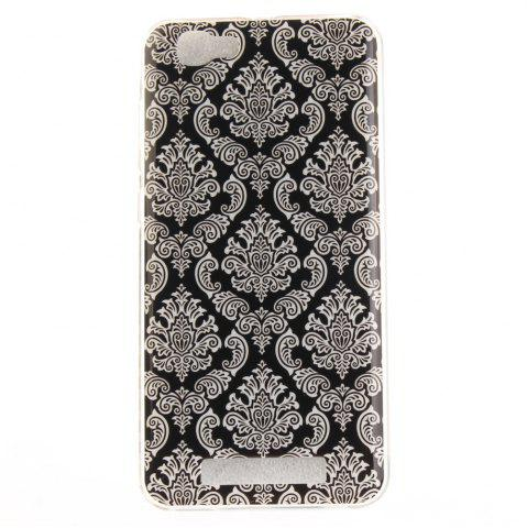 Best Totem Flowers Soft Clear IMD TPU Phone Casing Mobile Smartphone Cover Shell Case for ZTE Blade A610