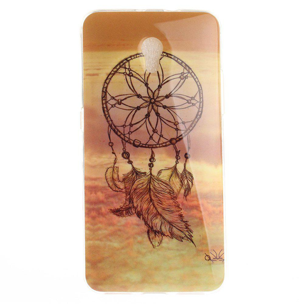 Shops Windbell Pattern Soft Clear IMD TPU Phone Casing Mobile Smartphone Cover Shell Case for ZTE Blade V7