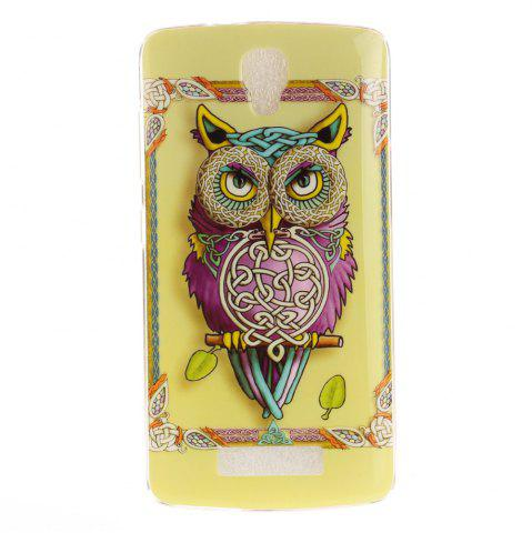 Latest Owl Soft Clear IMD TPU Phone Casing Mobile Smartphone Cover Shell Case for ZTE Blade L5 Plus
