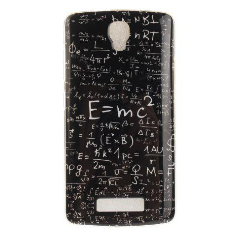 Online Mathematical Formula Soft Clear IMD TPU Phone Casing Mobile Smartphone Cover Shell Case for ZTE Blade L5 Plus