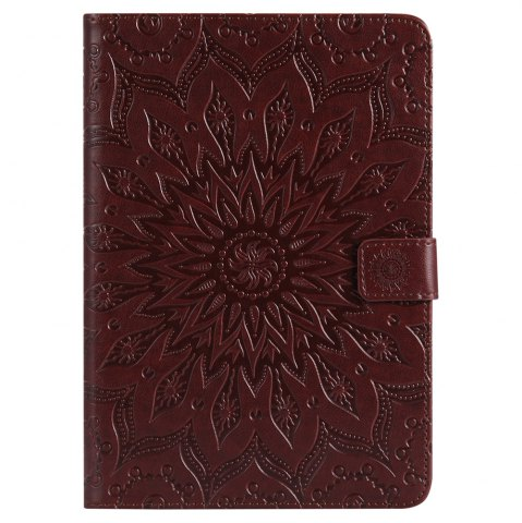 Fashion Sun Flower Printing Design Pu Leather Flip Wallet Lanyard Protective Case for iPad Mini 1 / 2 / 3