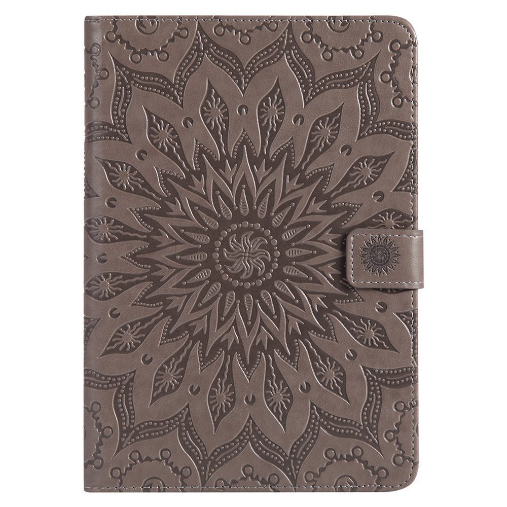 Shops Sun Flower Printing Design Pu Leather Flip Wallet Lanyard Protective Case for iPad Mini 1 / 2 / 3