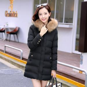 Women's Warm Hooded Cotton Clothes -
