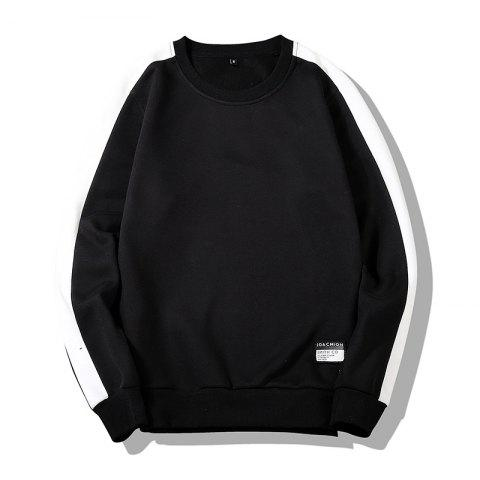 Fancy Men's Round Collared Sports  Sweatshirt