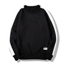 Men's Round Collared Sports  Sweatshirt -