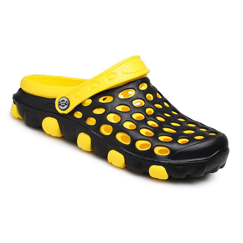 Shops Men Hollow Out Breathable PVC Slippers