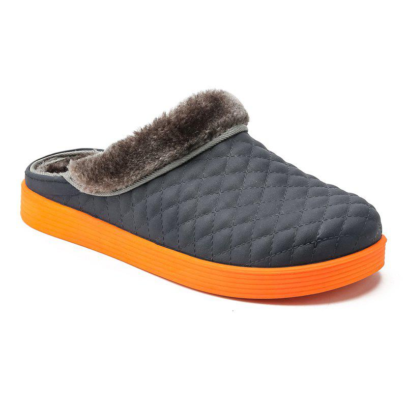Fashion High Quality Couple Cotton Slippers