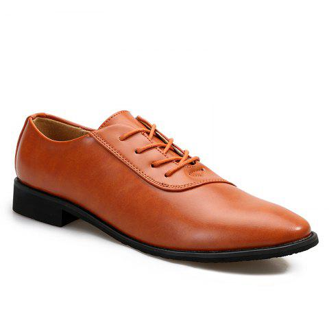 Fancy New Business Casual Leather Shoes