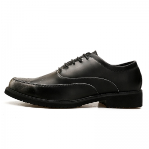 New Style Retro Brogues Leather Shoes -