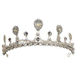 Fashion wedding dress accessories wedding princess crown -