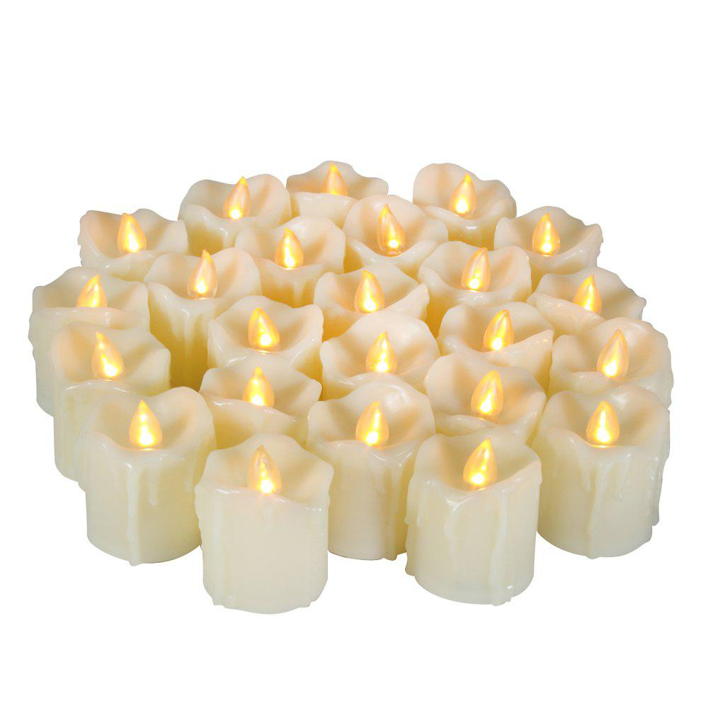 Shop Set of 6pcs LED Big Votive with Timer