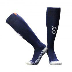Football Socks Stockings Men Over Knee Towel Bottom Football Training -