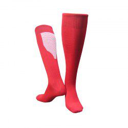 Professional Non-skid Football Socks with Stockings over Knee -