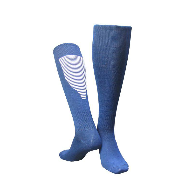Hot Professional Non-skid Football Socks with Stockings over Knee