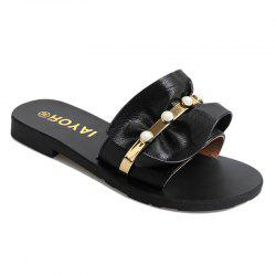 ZLL-C28 Indoor Fashion All-match Flat Wear Slippers -