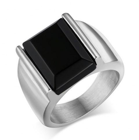 Affordable Men's Stylish Titanium Steel High-Quality Plating 18K Gold Ring