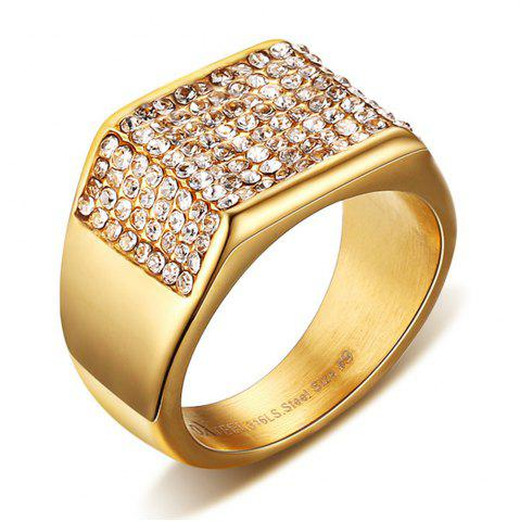 Store Fashion Trend Jewelry Titanium Diamond Men's Rings