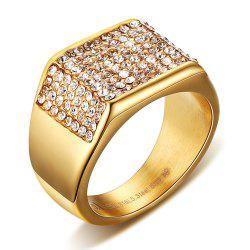 Fashion Trend Jewelry Titanium Diamond Men's Rings -