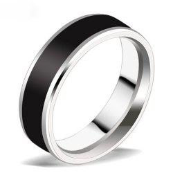 Titanium Gangsters Couple Fashion Ring Wild Jewelry -