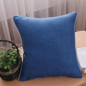 Weina Deep Blue Hold Pillow -