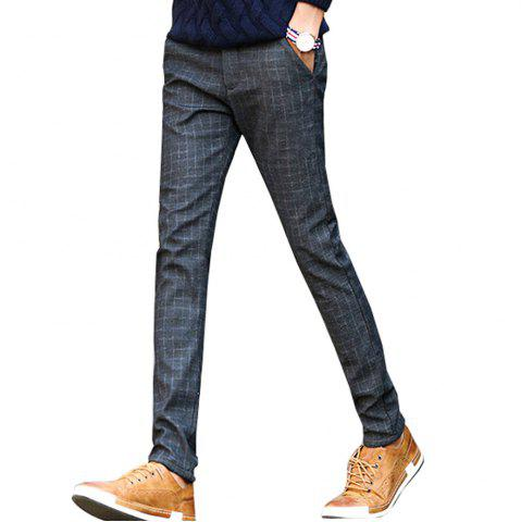 New Men's Casual Pants Comfy Thickened All Match Warm Pants
