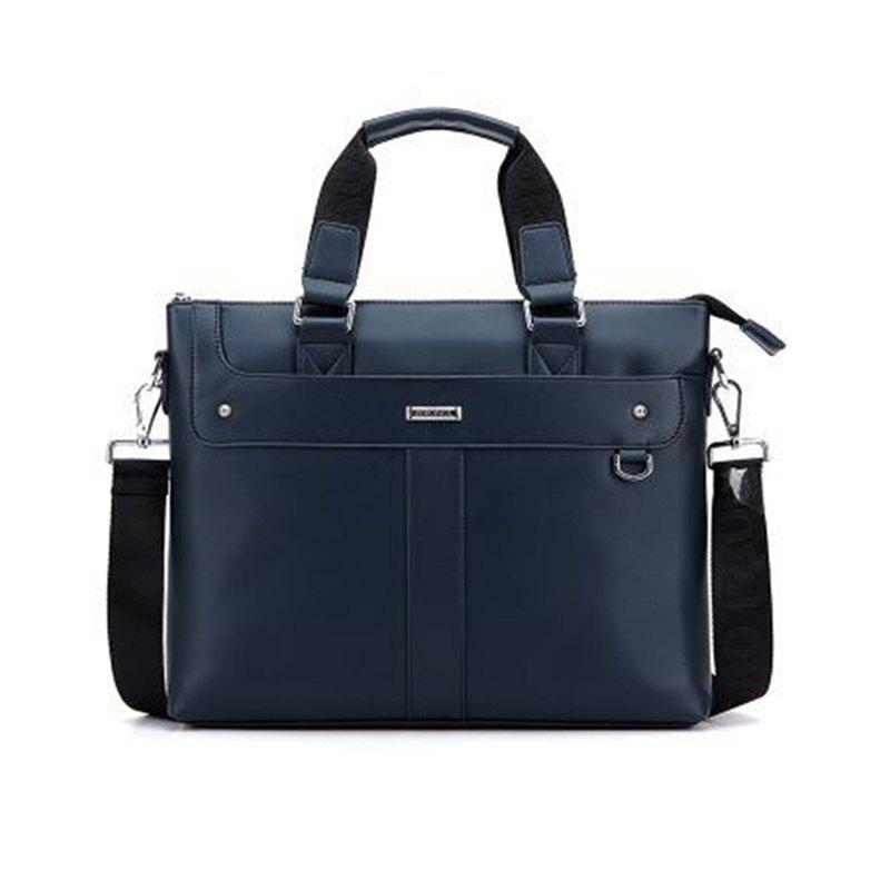Online Male Briefcase Bag Handbag Business Cross Single Shoulder Bag  006