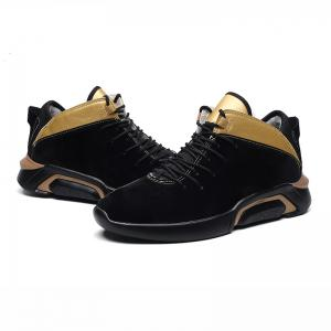 Men Casual Trend of Fashion Winter Rubber Outdoor Ankle Lace Up Suede Boots -
