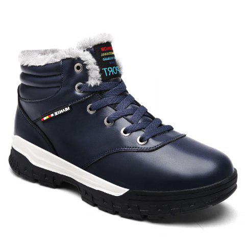 Chic Men Snow Boots Warm Comfortable Fashion Sport Leisure Shoes Outdoor Sneakers