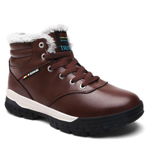 Buy Men Snow Boots Warm Comfortable Fashion Sport Leisure Shoes Outdoor Sneakers