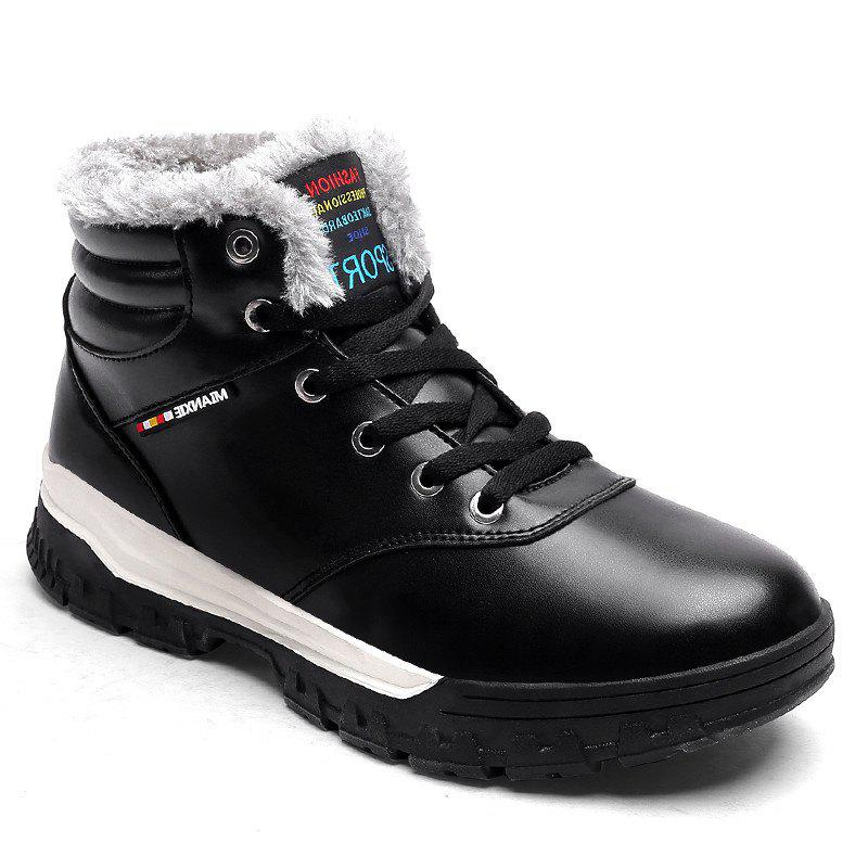Outfit Men Snow Boots Warm Comfortable Fashion Sport Leisure Shoes Outdoor Sneakers