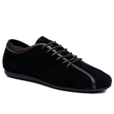 Outfit Men Casual Trend Rubber Loafers Fashion Business Outdoor Peas Shoes