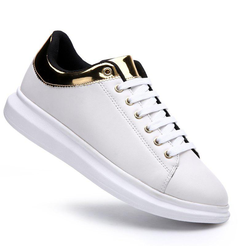 Мужская одежда Casual Trend Rubber Loafers Fashion White Outdoor Peas Shoes