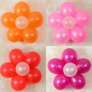 10PCS 6.5CM Useful Flower Shape Balloons Sealing Clip Ballon Buttons Clips Wedding/Birthday/Christmas Party Decoration S -