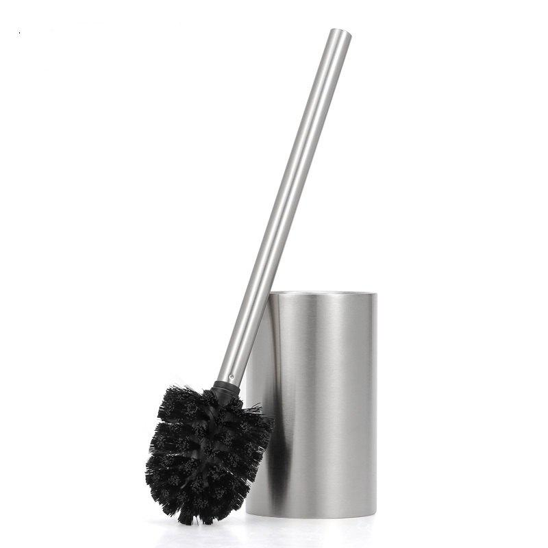 Outfits Stainless Steel Durable Toilet Brush Bathroom Cleaning Brush Base WC Cleaning Accessory