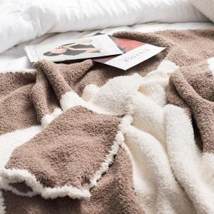 The New Super Soft and Delicate Half - Edge Velvet Casual Blanket -