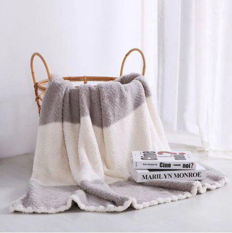 Outfits The New Super Soft and Delicate Half - Edge Velvet Casual Blanket